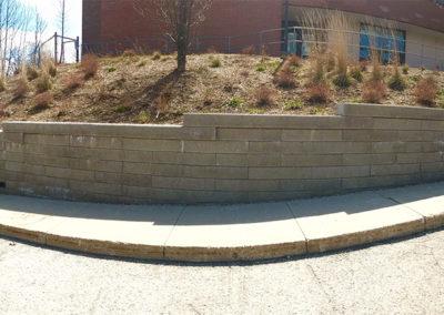 St Timothy Engineered Retaining Wall 2