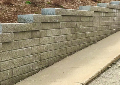St Timothy Engineered Retaining Wall 3