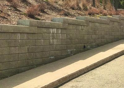 St Timothy Engineered Retaining Wall 4