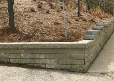 St Timothy Engineered Retaining Wall 6